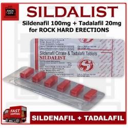 Sildalist / Cialis+Viagra - 18 бр.
