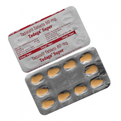 Super Cialis / Tadaga Generic 60 mg