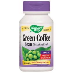 Зелено кафе (зърна), 500 mg
